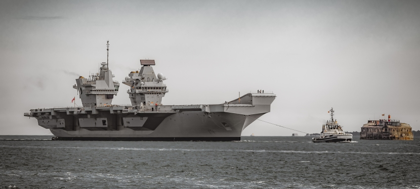 Coming home. Again…. HMS Queen Elizabeth